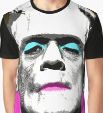 Frankie - Pink Graphic T-Shirt