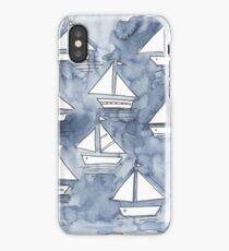 Sail with us! iPhone Case/Skin