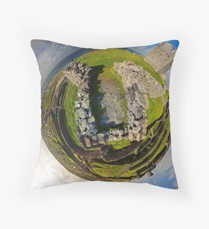 O'Brien Fort Inisheer, Aran Islands, Ireland Throw Pillow