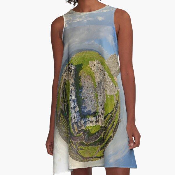 O'Brien Fort Inisheer, Aran Islands, Ireland A-Line Dress