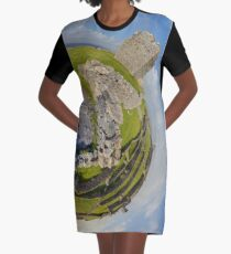 O'Brien Fort Inisheer, Aran Islands, Ireland Graphic T-Shirt Dress