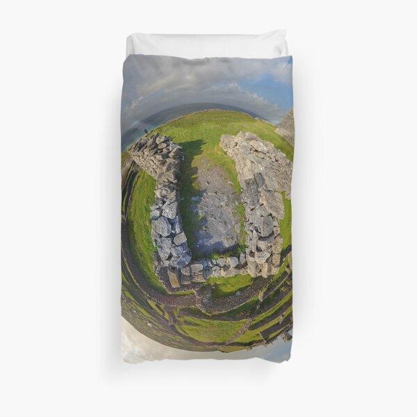 O'Brien Fort Inisheer, Aran Islands, Ireland Duvet Cover