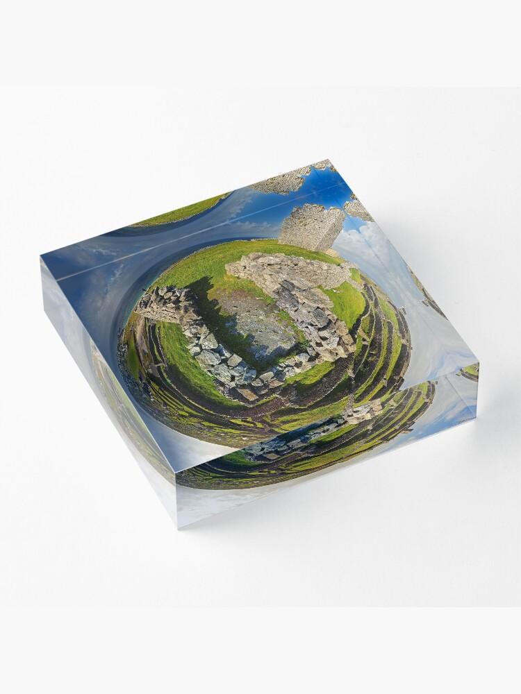 Alternate view of O'Brien Fort Inisheer, Aran Islands, Ireland Acrylic Block