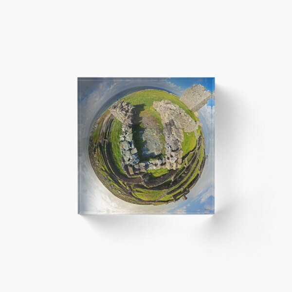 O'Brien Fort Inisheer, Aran Islands, Ireland Acrylic Block