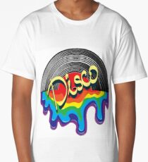 Music in the style of DISCO Long T-Shirt