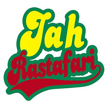 Jah Rastafari Reggae Dub by typographywords