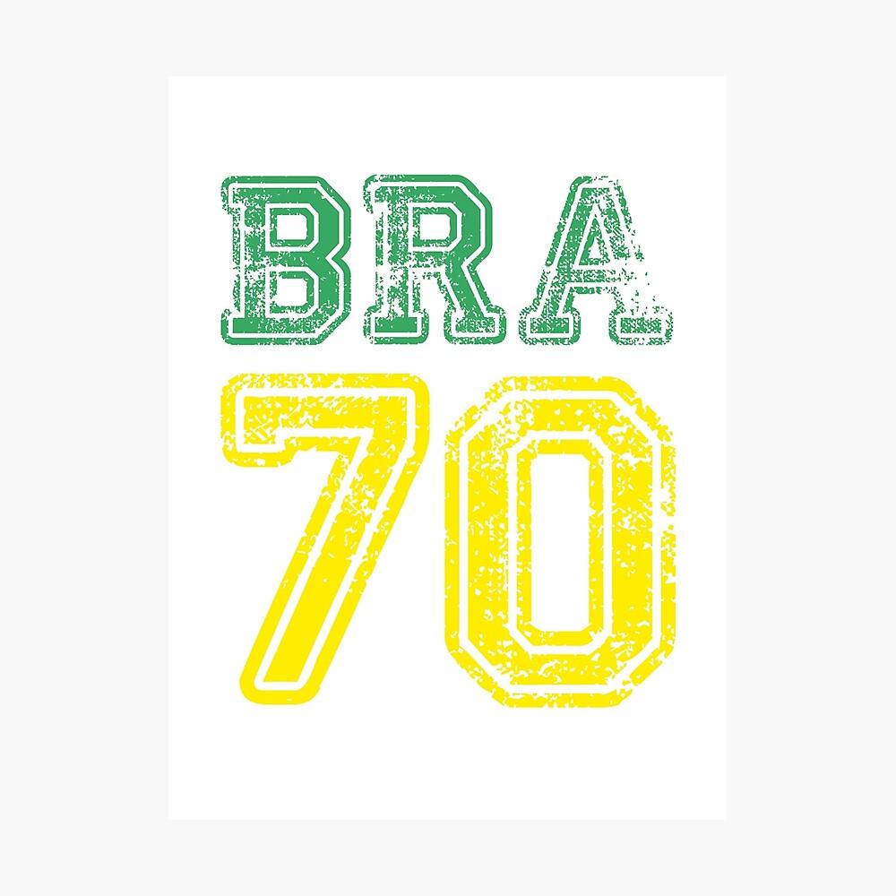 BRAZIL 1970 Fotodruck