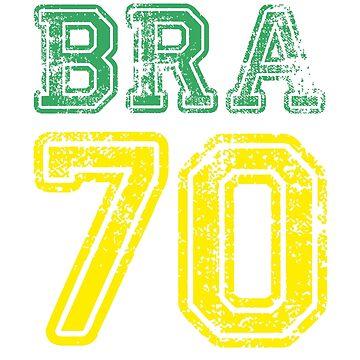 BRAZIL 1970 by eyesblau