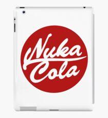 Nuka Cola Red Circle Logo iPad Case/Skin
