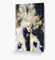 Venice - Carnival  Mask Series 02 Greeting Card