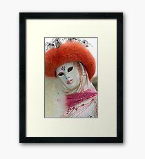 Venice - Carnival  Mask Series 03 Framed Print