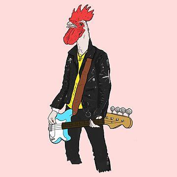 Punk Rockerel by Dak-Mallard