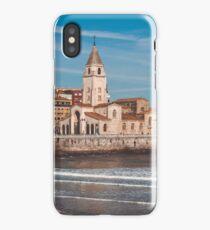 View of Gijon Asturias the Northern Spain  iPhone Case/Skin