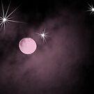 Purple moon by Cricket Jones