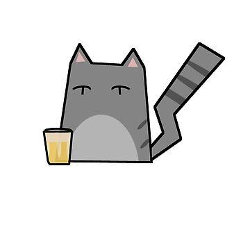 Beer Cat by Rjcham