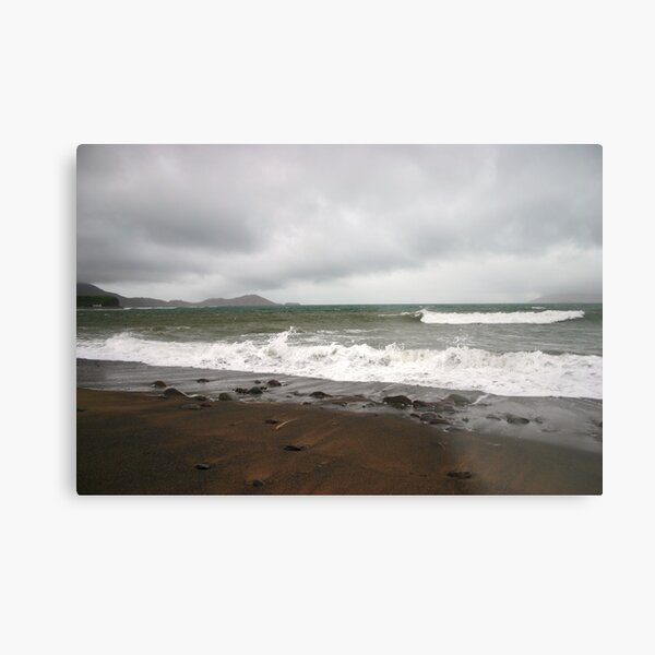 Kerry Beach in Winter Metal Print