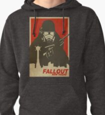 Fallout New Vegas Poster (Fallout NV) Pullover Hoodie