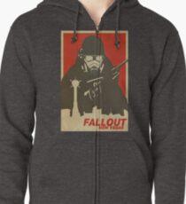 Fallout New Vegas Poster (Fallout NV) Zipped Hoodie