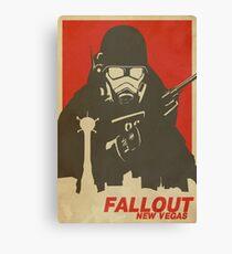 Fallout New Vegas Poster (Fallout NV) Canvas Print