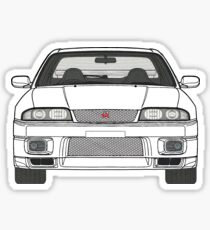 Nissan Skyline R33 GT-R (front) V2.0 Sticker