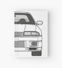 Nissan Skyline R33 GT-R (front) V2.0 Hardcover Journal