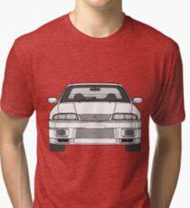 Nissan Skyline R33 GT-R (front) V2.0 Tri-blend T-Shirt