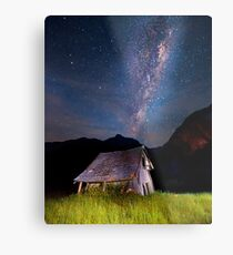 The barn at the end of the universe Metal Print