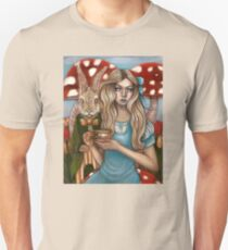 Alice and the March Hare Unisex T-Shirt