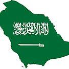 «Bandera del continente de Arabia Saudita» de PRODUCTPICS