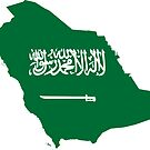 Saudi Arabia Continent Flag by PRODUCTPICS