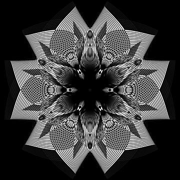Flower Shape Mono by Rosh