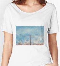 Razor and barbed wire fence Women's Relaxed Fit T-Shirt