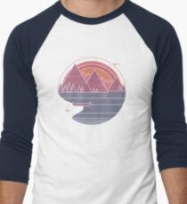 The Mountains Are Calling Men's Baseball ¾ T-Shirt