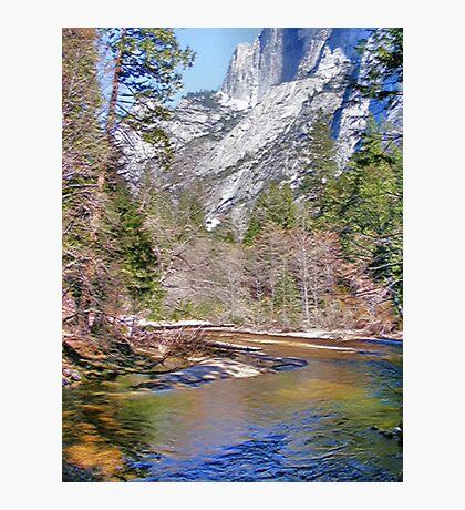 Tanaya Creek ~ Digital Painting Photographic Print