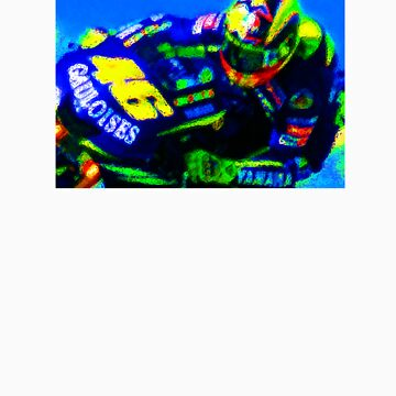 Valentino Rossi by rabble