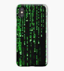 Matrix Binary Code iPhone Case/Skin