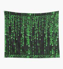 Matrix Binary Code Wall Tapestry