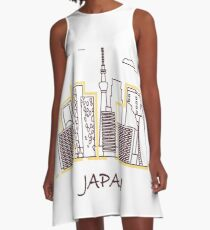 Unusual Japanese architecture.  A-Line Dress