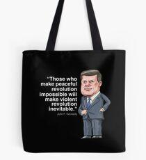 John F. Kennedy Tote Bag