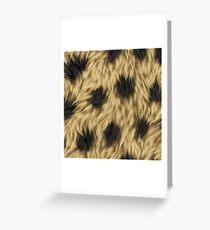 animal print Greeting Card