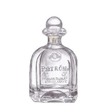 Patron Tequila Bottle Samsung Phone Case by Lallinda