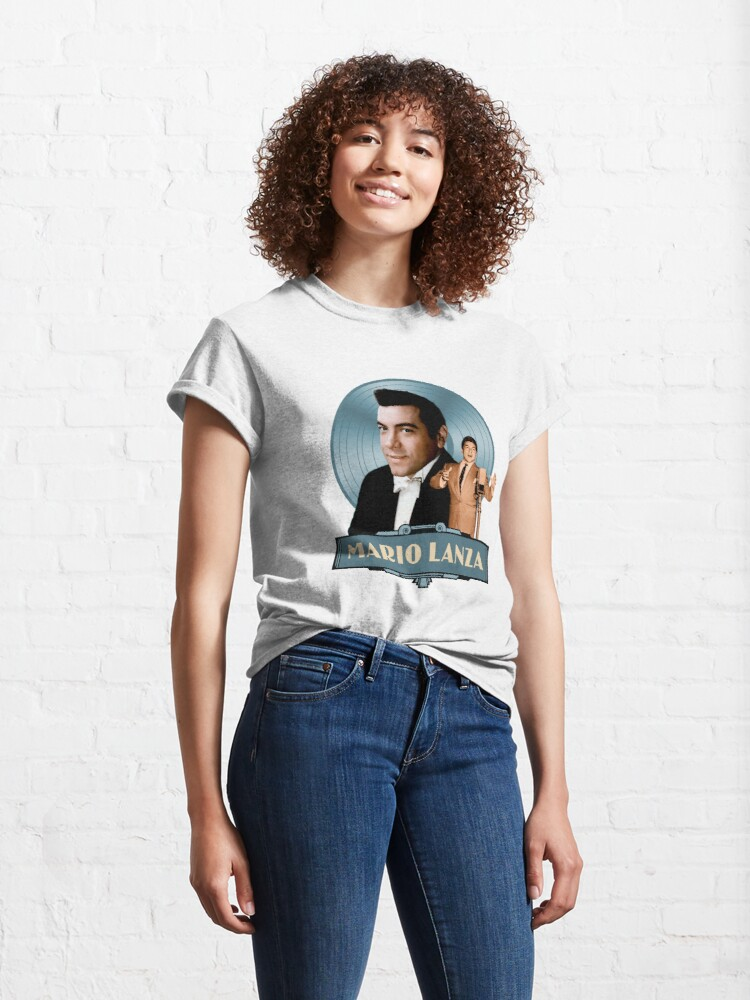 Alternate view of Mario Lanza - The Good Old Days Classic T-Shirt