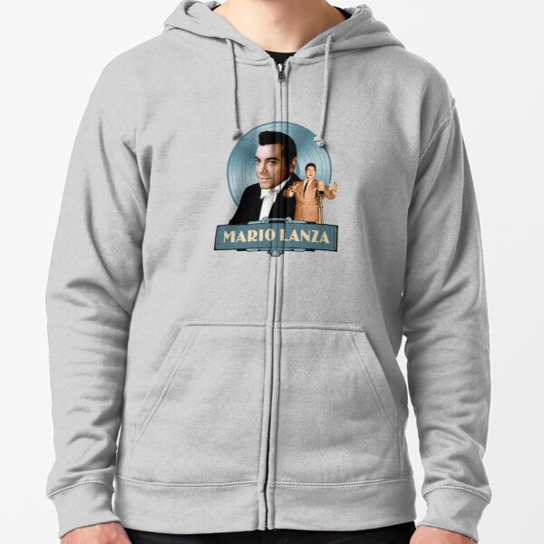 Mario Lanza - The Good Old Days Zipped Hoodie
