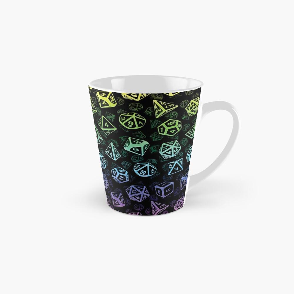 D20 Dice Set Pattern (Rainbow) Mug