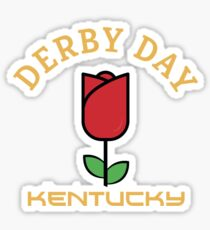 Kentucky Derby T-Shirt Sticker