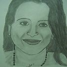 Portrait of Chandra!! by Rahul Kapoor