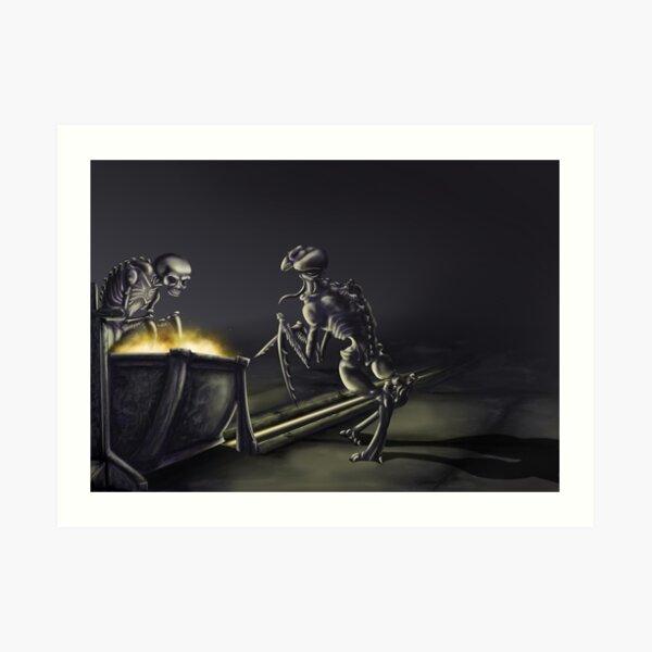 Bonestalker Kunstdruck