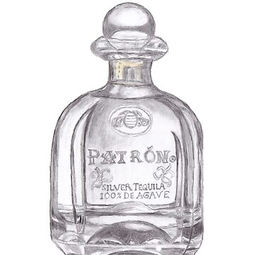 Patron Tequila Bottle by Lallinda