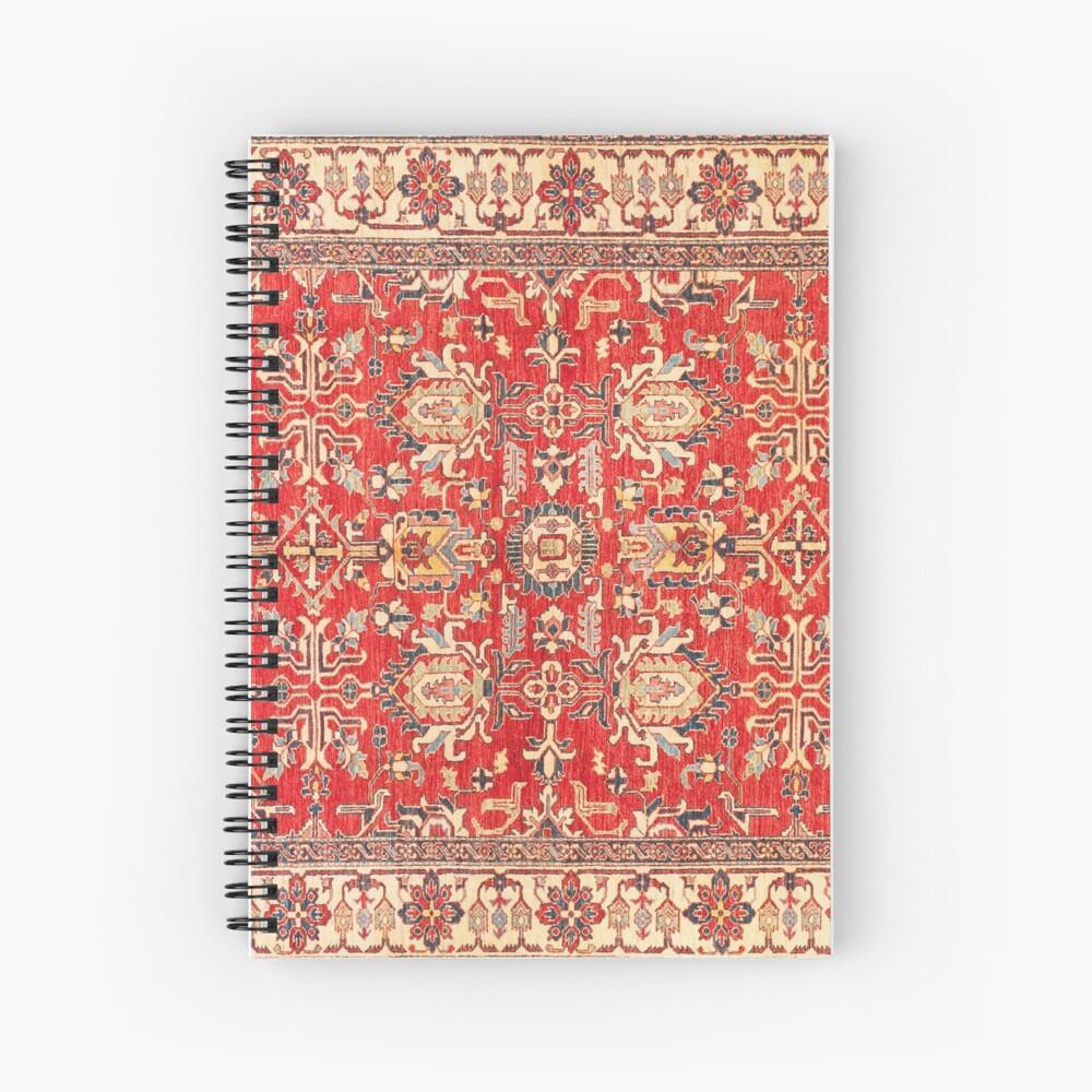 alfombra turca Cuaderno de espiral