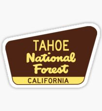 Tahoe National Forest California CA Sticker